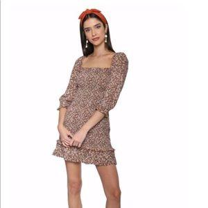 Faithful es Saada mini dress